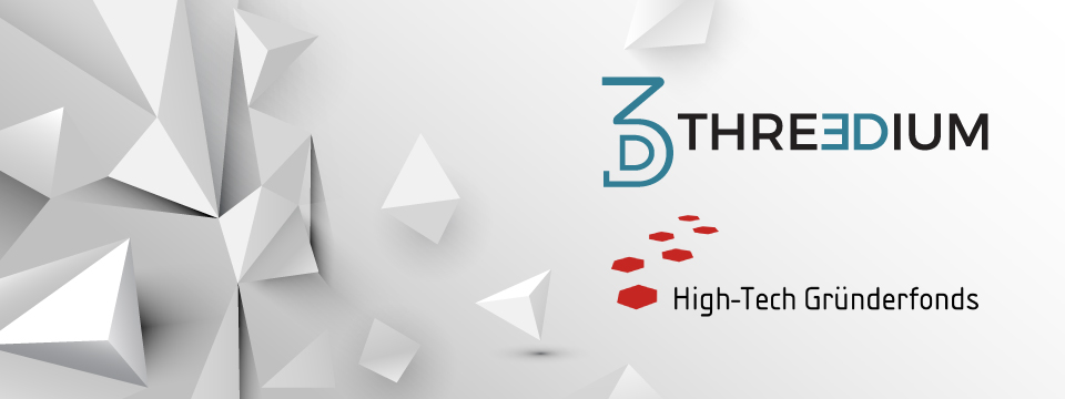 Threedium Ltd. raises €1 Million seed round led by HTGF